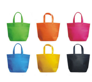 non woven promotional laminated tote bags