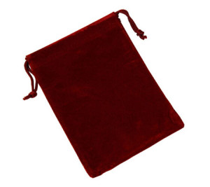 Simple Jewelry Pouches Velvet Gift Bags Wedding Favors