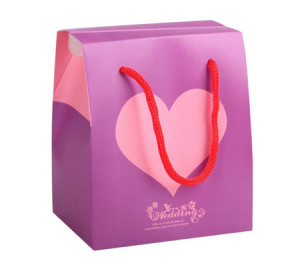 Love gift paper wedding favor bags