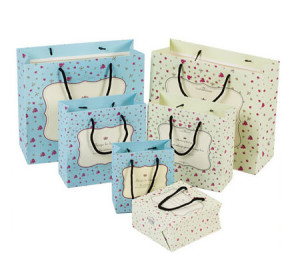 Cute recycled Paper Gift bags