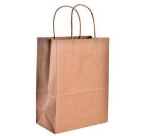 ECO-friendly Kraft Paper Shopping Bags