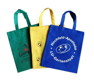 Cheap non-woven bags with logo