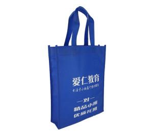 Foldable Education non woven bag fabric handles