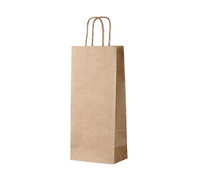 Kraft Paper Wine Gift Bag