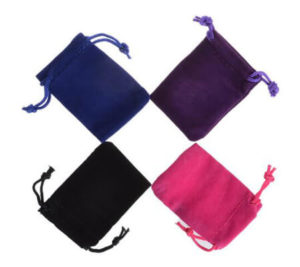 velvet pouch for jewelry gifts